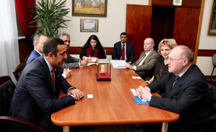 Foreign Undersecretary meets Russian Diplomatic Academy ...